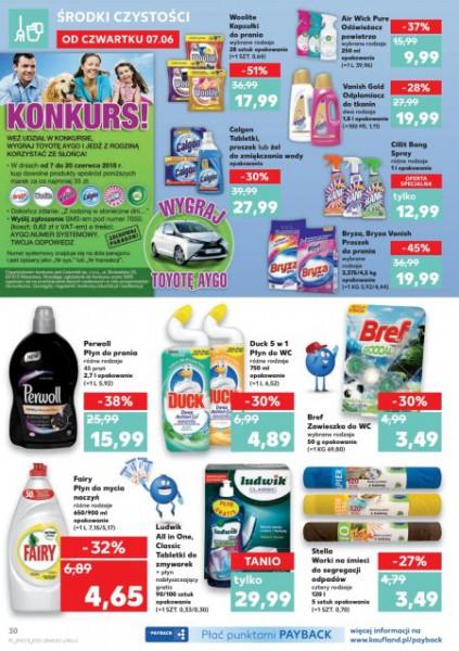 Kaufland gazetka promocyjna od 2018-06-07, strona 30