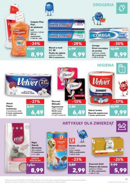 Kaufland gazetka promocyjna od 2018-06-07, strona 31
