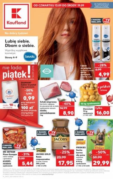 Kaufland gazetka promocyjna od 2018-09-13, strona 1
