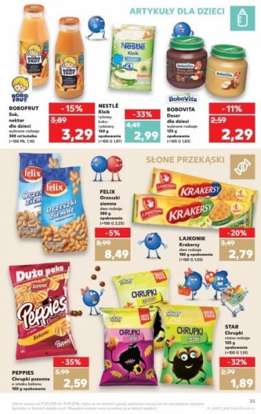 Kaufland gazetka promocyjna od 2018-09-13, strona 25