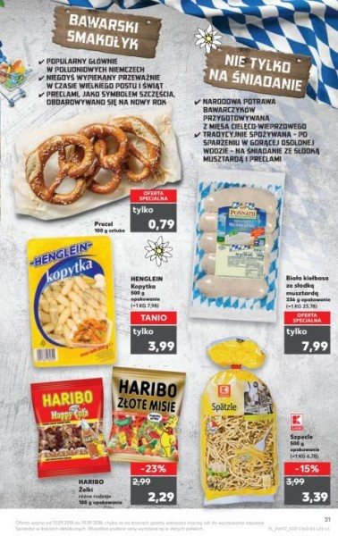 Kaufland gazetka promocyjna od 2018-09-13, strona 31