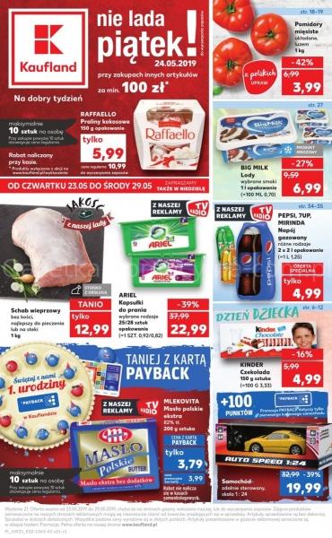 Kaufland gazetka promocyjna od 2019-05-23, strona 1