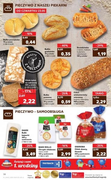 Kaufland gazetka promocyjna od 2019-05-23, strona 30