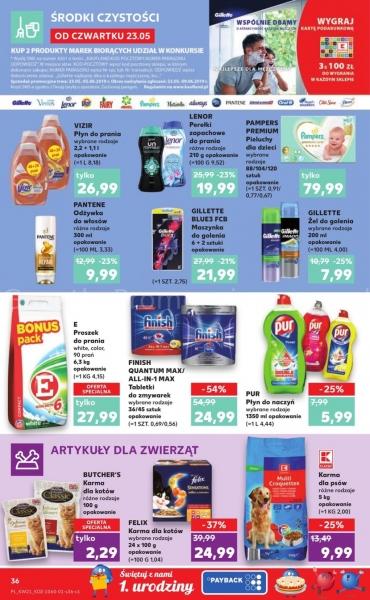 Kaufland gazetka promocyjna od 2019-05-23, strona 36