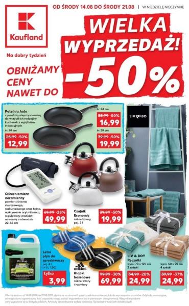 Kaufland gazetka promocyjna od 2019-08-14, strona 1