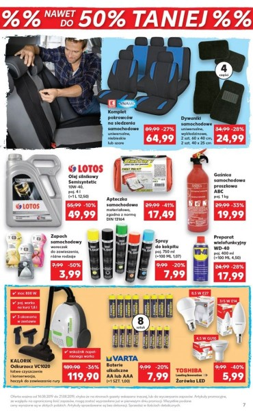 Kaufland gazetka promocyjna od 2019-08-14, strona 7