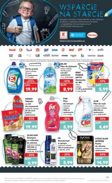 Kaufland gazetka promocyjna od 2019-09-05, strona 25