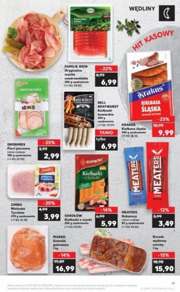 Kaufland gazetka promocyjna od 2019-09-12, strona 19