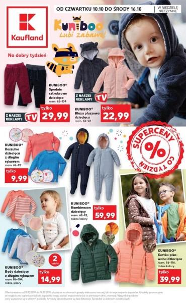 Kaufland gazetka promocyjna od 2019-10-10, strona 1