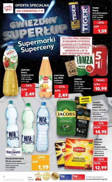 Kaufland gazetka promocyjna od 2019-11-07, strona 6
