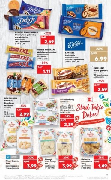 Kaufland gazetka promocyjna od 2019-11-07, strona 9