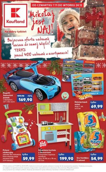 Kaufland gazetka promocyjna od 2019-11-07, strona 1