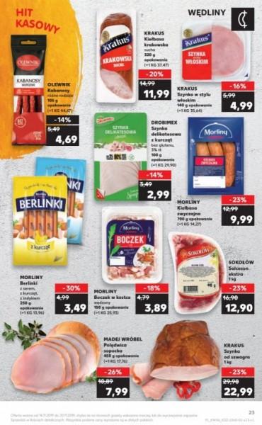 Kaufland gazetka promocyjna od 2019-11-14, strona 23