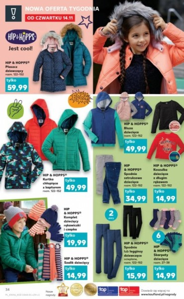 Kaufland gazetka promocyjna od 2019-11-14, strona 34