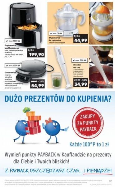 Kaufland gazetka promocyjna od 2019-11-14, strona 37