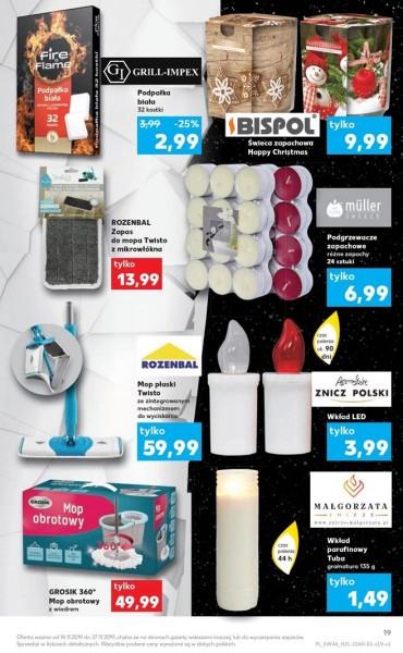 Kaufland gazetka promocyjna od 2019-11-14, strona 19