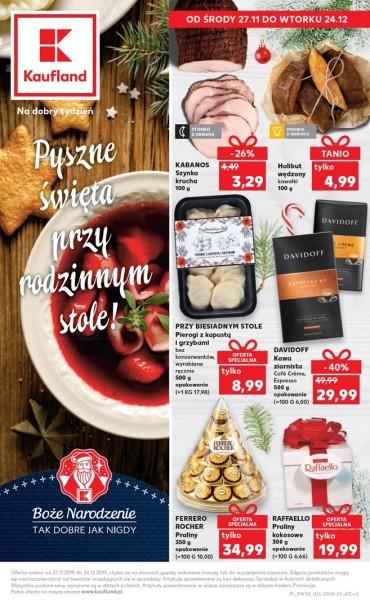 Kaufland gazetka promocyjna od 2019-11-27, strona 1