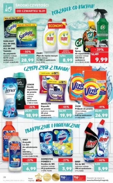Kaufland gazetka promocyjna od 2020-01-16, strona 28