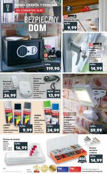 Kaufland gazetka promocyjna od 2020-01-16, strona 36