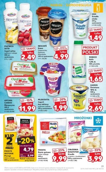 Kaufland gazetka promocyjna od 2020-07-02, strona 21