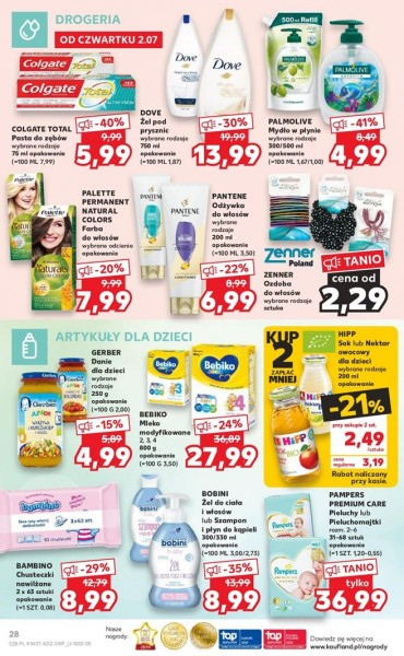 Kaufland gazetka promocyjna od 2020-07-02, strona 28