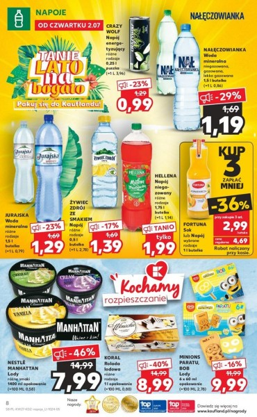 Kaufland gazetka promocyjna od 2020-07-02, strona 8