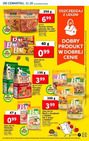 Lidl gazetka promocyjna od 2018-10-11, strona 17