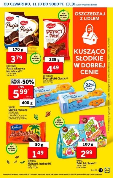 Lidl gazetka promocyjna od 2018-10-11, strona 19