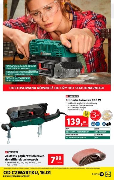 Lidl gazetka promocyjna od 2020-01-13, strona 31