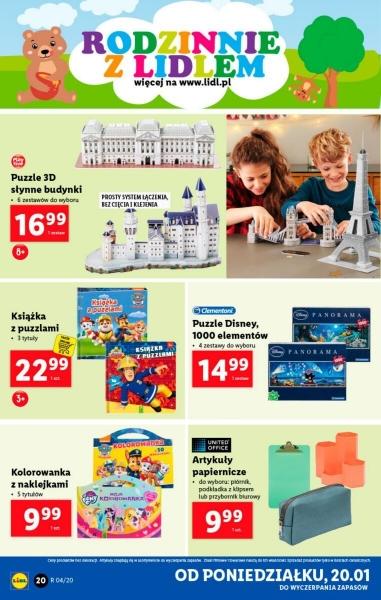 Lidl gazetka promocyjna od 2020-01-20, strona 20