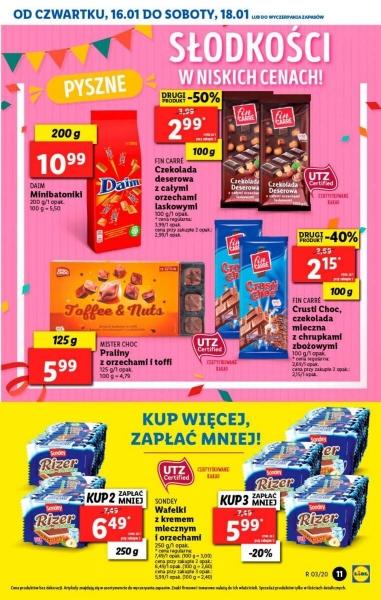 Lidl gazetka promocyjna od 2020-01-16, strona 11