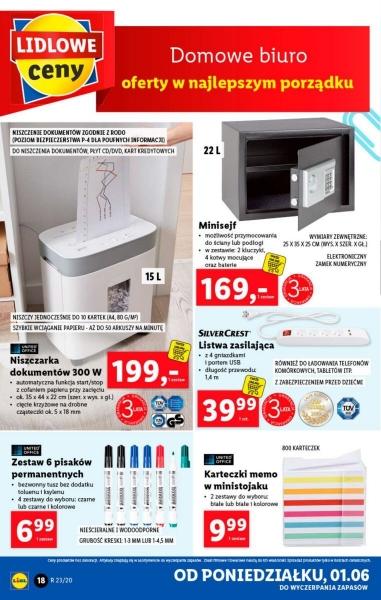 Lidl gazetka promocyjna od 2020-06-01, strona 18