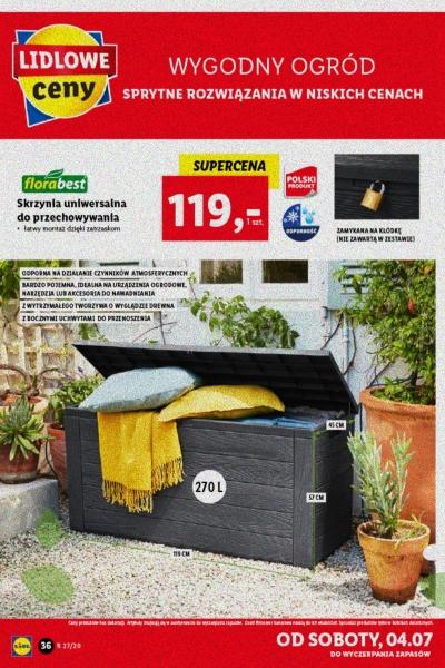 Lidl gazetka promocyjna od 2020-06-29, strona 36