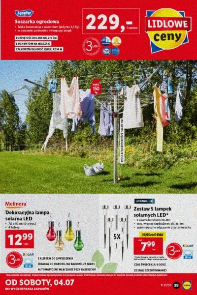 Lidl gazetka promocyjna od 2020-06-29, strona 39