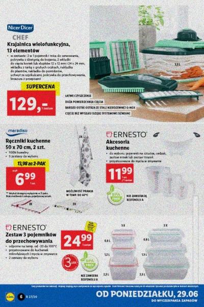 Lidl gazetka promocyjna od 2020-06-29, strona 6