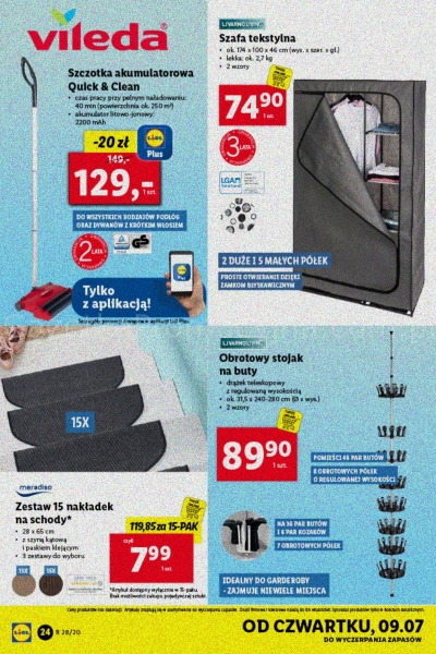 Lidl gazetka promocyjna od 2020-07-06, strona 24