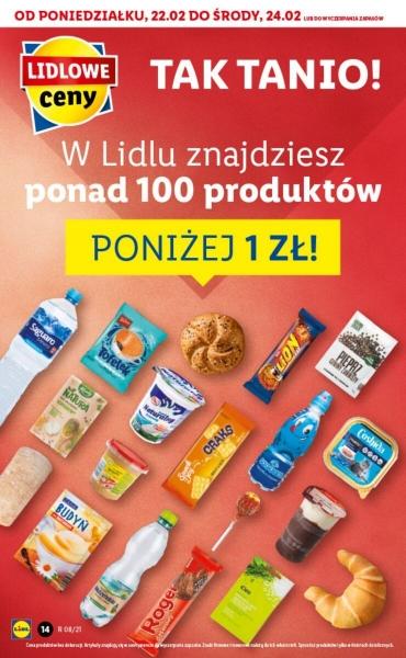 Lidl gazetka promocyjna od 2021-02-22, strona 14