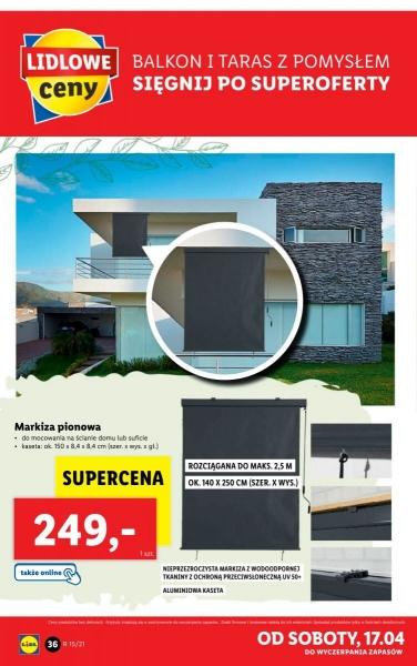 Lidl gazetka promocyjna od 2021-04-12, strona 36