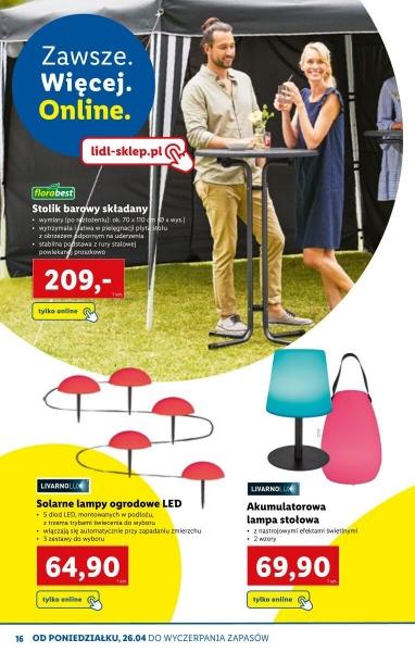 Lidl gazetka promocyjna od 2021-04-01, strona 16