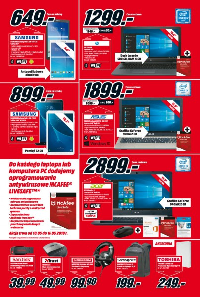 Media Markt gazetka promocyjna od 2018-05-10, strona 7