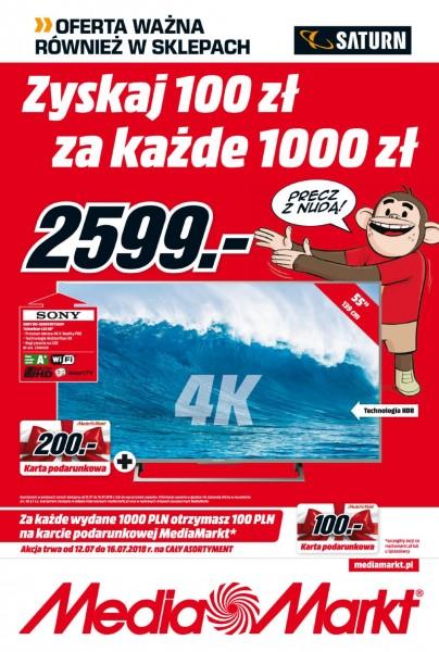 Media Markt gazetka promocyjna od 2018-07-12, strona 1
