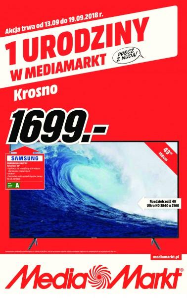 Media Markt gazetka promocyjna od 2018-09-13, strona 1