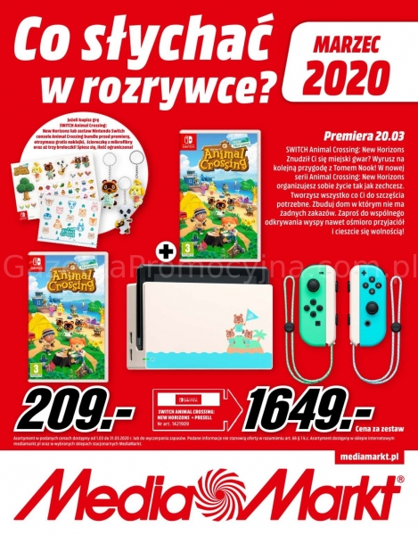 Media Markt gazetka promocyjna od 2020-03-01, strona 1