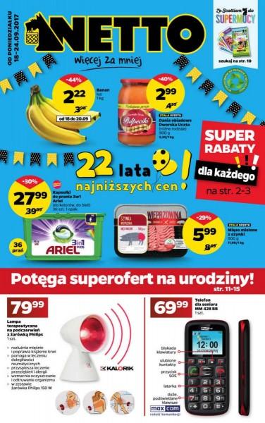 Netto gazetka promocyjna od 2017-09-18, strona 1