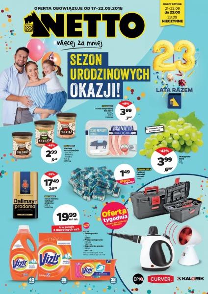 Netto gazetka promocyjna od 2018-09-17, strona 1