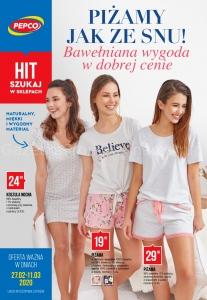 Koszula nocna damska w Pepco • Promocja • Cena  3j6Fo