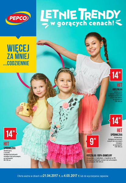 Pepco gazetka promocyjna od 2017-04-21, strona 1
