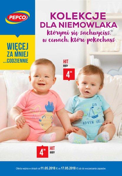 85c5e3f70b689b Pepco gazetka promocyjna ▻ Kolekcja dla niemowlaka od 2018-05-11 ...