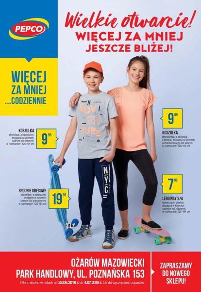 fe040fe5ae602c Pepco gazetka promocyjna ▻ Wielkie otwarcie, Ożarów Mazowiecki od ...