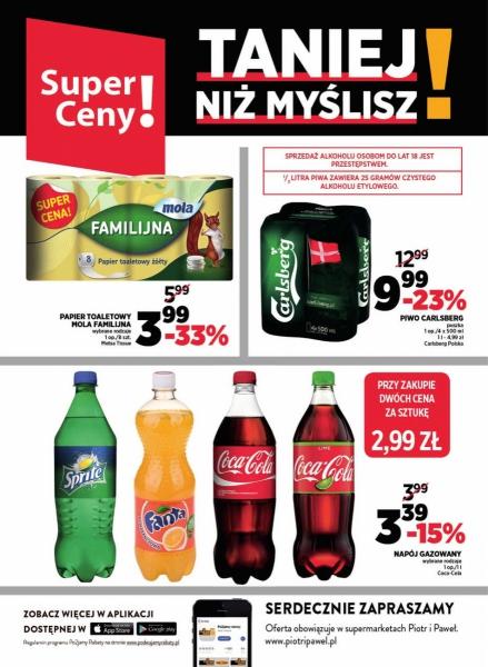 Piotr i Paweł gazetka promocyjna od 2018-03-13, strona 8